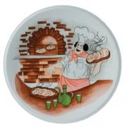 Блюдо для пиццы «Барилла» с рис. d=27см