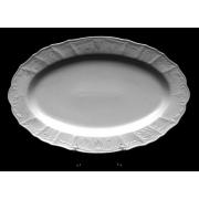 Блюдо овальное 36 см «Бернадот Платина 2021»