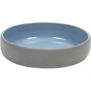 Салатник «Даск» D=14.5, H=3см; серый, синий