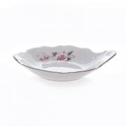Набор розеток 11 см. 6 шт «Роза серая платина 5396021»