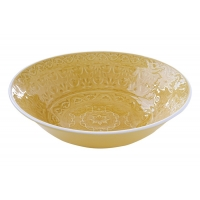 Тарелка суповая (жёлтая) Ambiente без инд.упаковки