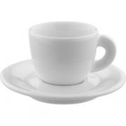 Пара кофейная «Эдекс» H=4.9см; белый