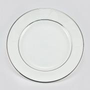Набор 6 тарелок 16см «Белый лист»