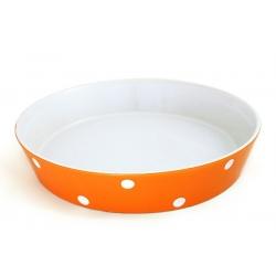 Блюдо круглое «Горошек» 27 см