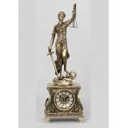 Часы «Правосудие» комбин. 51х17см.