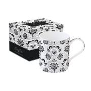 Кружка Рококо (черная) в подарочной упаковке