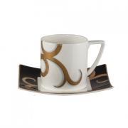 Набор 6 чайных пар 250мл «Гальяни»