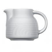 Молочник «Карат», фарфор, 40мл, D=5,H=5,L=7см, белый