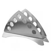 Салфетница, сталь, H=105,L=180,B=30мм, металлич.