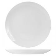 Тарелка мелкая без борта «Кунстверк», фарфор, D=31см, белый