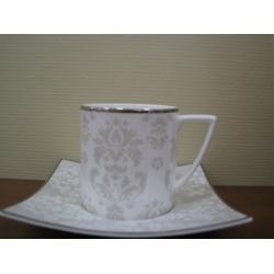 Набор 6 чайных пар 250мл «Париж»
