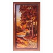 Картина «Домик у речки»