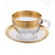 Набор для чая на 6 перс. 12 пред. «Золотая дорожка»