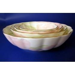 Н 1070011 Ирис ПИНК салатник мелкий 22см (зол.лента)