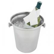 Ведро для шампанского, сталь нерж., D=21.5,H=22см