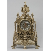 Часы готич. золотистый 38х24 см.