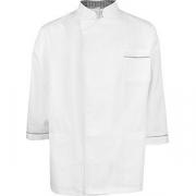 Куртка двубортная 50-52размер твил; белый