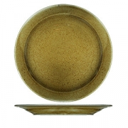 Тарелка мелкая «Кантри Стайл», фарфор, D=260,H=25мм, зелен.