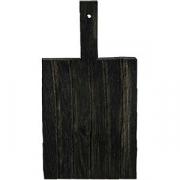 Доска для подачи прямоуг.с ручкой «Поле» темный дуб