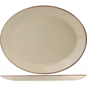 Блюдо овал «Кларет» 30.5см фарфор