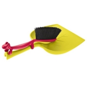 Набор из щетки и совка «Дастин» (Dustin) Koziol 6,5 x 24,5 x 41,5см (жёлтый)
