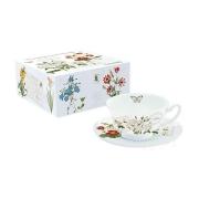 Чашка с блюдцем Ботанический сад