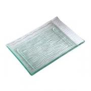 Блюдо для суши «Криэйшнс», стекло, L=34,B=20см, прозр.