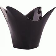 Креманка-подсвечник «Блэк» D=155, H=100мм; черный