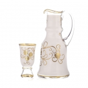 Набор для воды на 6 перс. 7 пред. «Декор 6010 - Цветы Королевский»