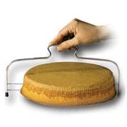 Нож-струна для резки торта; H=12.5,L=33.5см