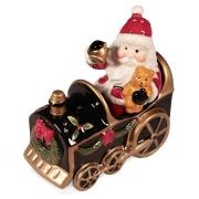 Набор для специй 6,7 см Дед мороз в паровозике
