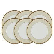 Набор из 6 тарелок Ноктюрн Голд