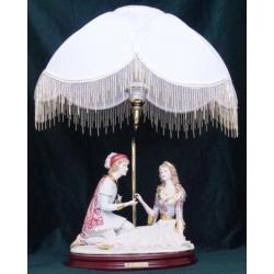 Лампа с абажуром «Ромео и Джульетта» 65 см