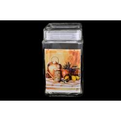Банка для сыпучих продуктов «Натюрморт» 1,68 л/ 18 см