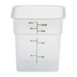 Контейнер пищевой 3.8л полиэтилен