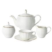 Чайный сервиз из 15 предметов на 6 персон Бьянка