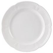 Тарелка «Торино вайт» d=16.5см фарфор
