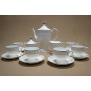 Чайный сервиз на 6 персон, 17 предметов. «Арабески»