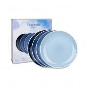 Набор тарелок 27 см. 4 шт. «Вахстербах»