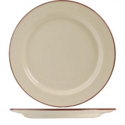 Тарелка «Кларет» 27см фарфор