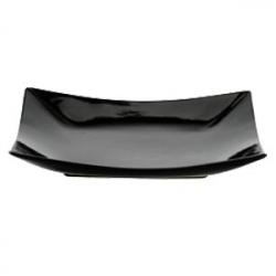 Тарелка квадр.12.5*12.5см черная