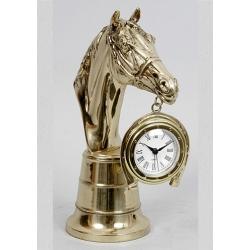 Часы - «Лошадь» с будильником 22х9см.