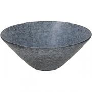 Салатник «Органика» D=22см; серый