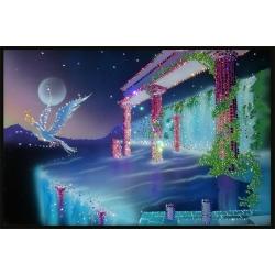 Южная ночь, 60х40 см, 3363 кристаллов