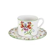 Чашка с блюдцем Аквитания