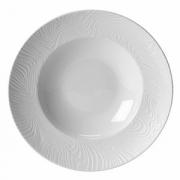 Тарелка для пасты «Оптик», фарфор, 450мл, D=300,H=55мм, белый