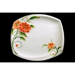 Тарелка обеденная 26 см «Цветущий мак»