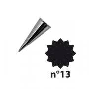 Насадка конд. «12-конечная звезда»; сталь нерж.