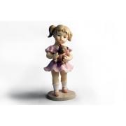 Статуэтка «Девочка с мишкой»