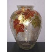 F/739/100 ваза «Кленовые листья» 33см